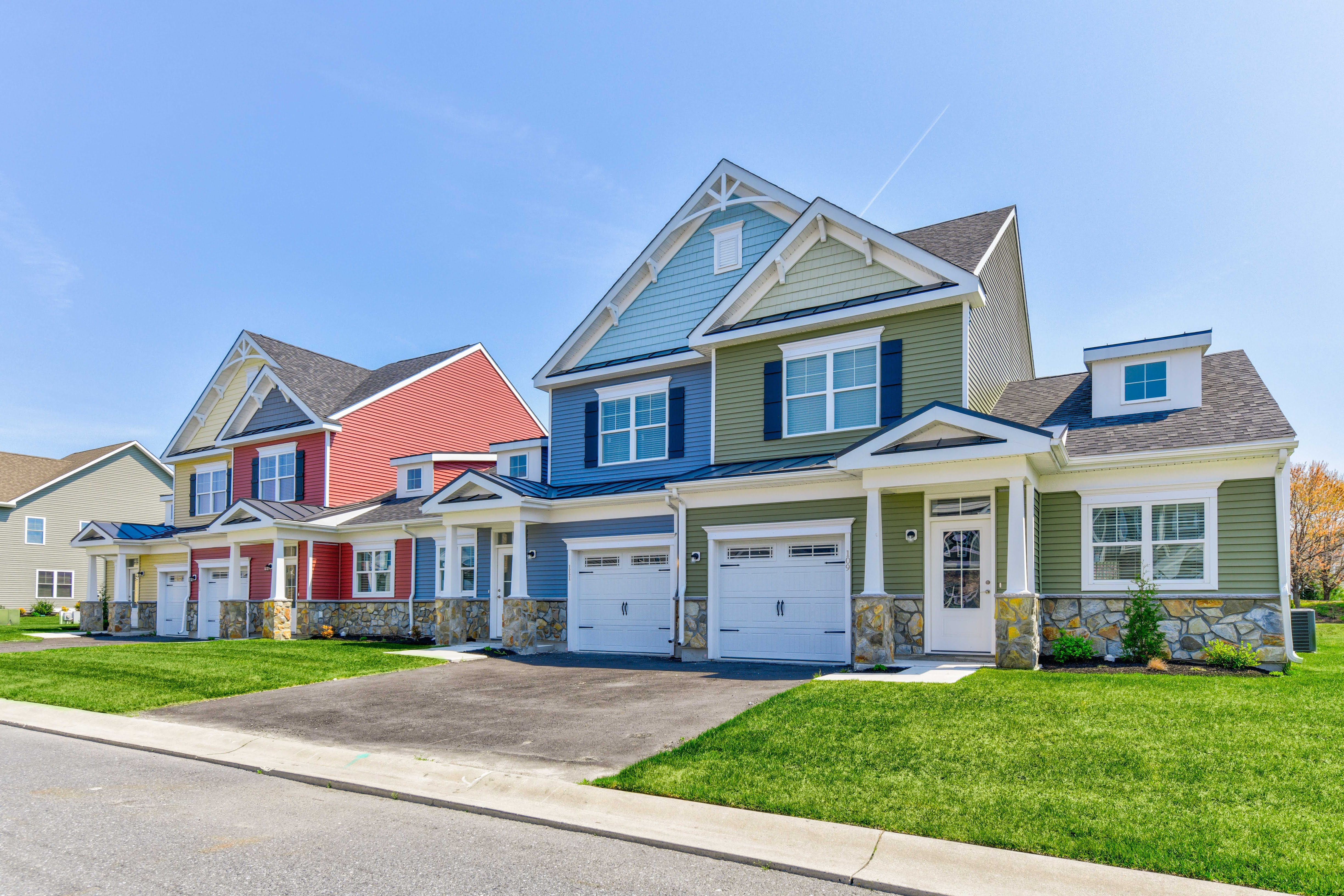 Amazing Fairway Village Townhomes Capano Residential Home Interior And Landscaping Transignezvosmurscom